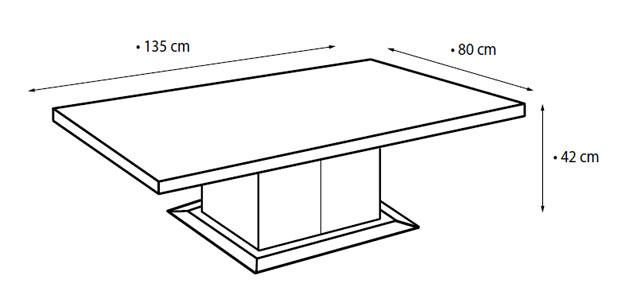 Ława L-459 wymiary