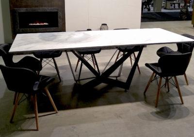 Stół RAGNO – blat spiek kwarcowy